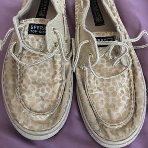 Sperry Topsider Bahama Gold Dots 4.0 M Girls